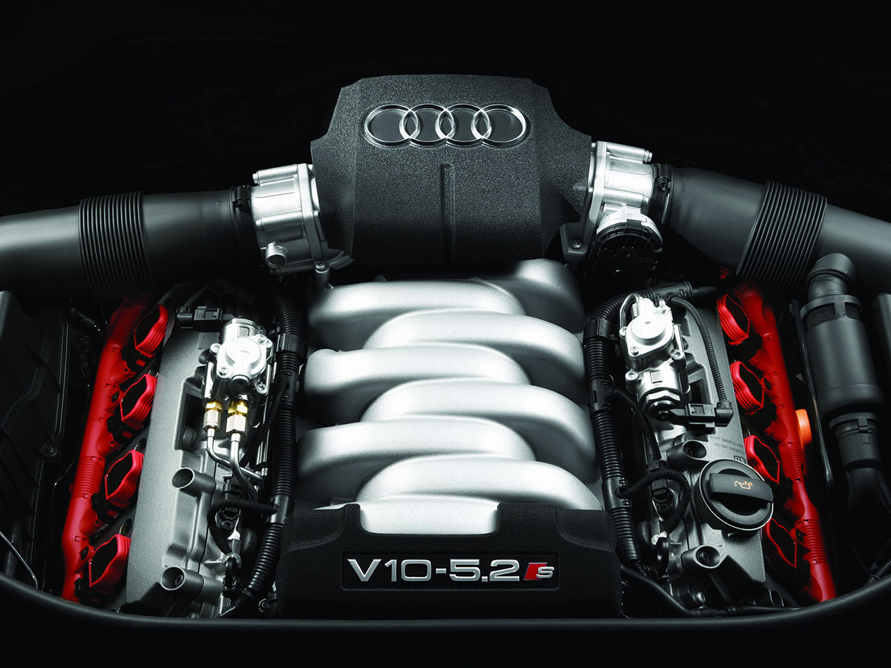 Audi v10 engine wallpaper 5